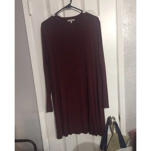 Charlotte Russe Long Sleeve Casual Dress